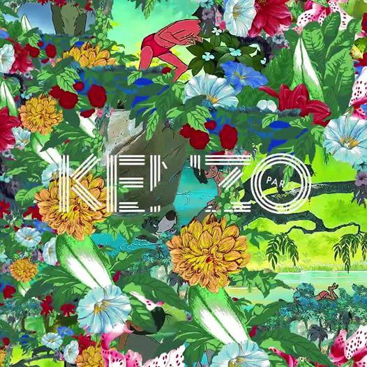 Dzsungelláz Kenzo módra