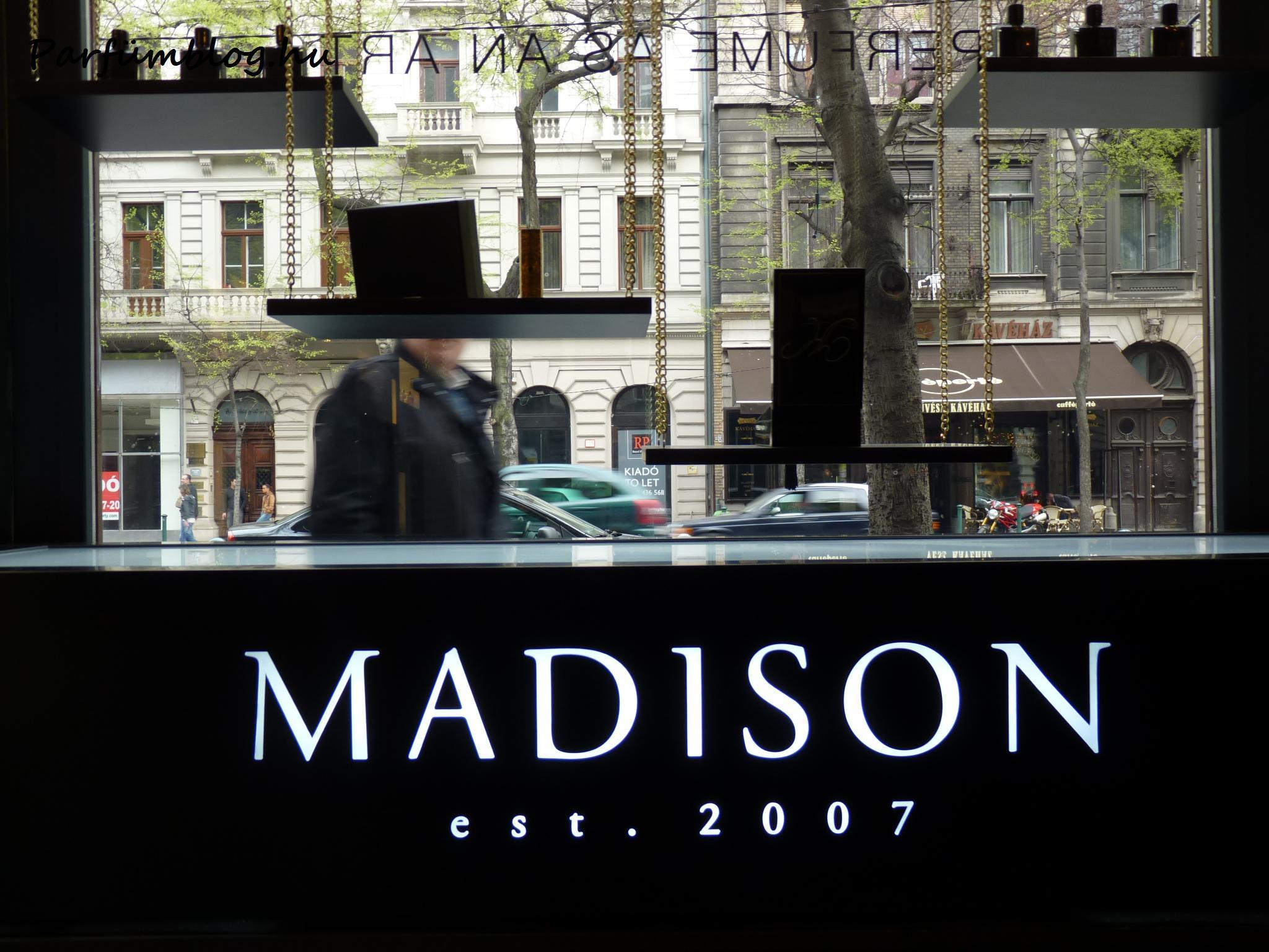 Parfümériák: Madison Perfumery