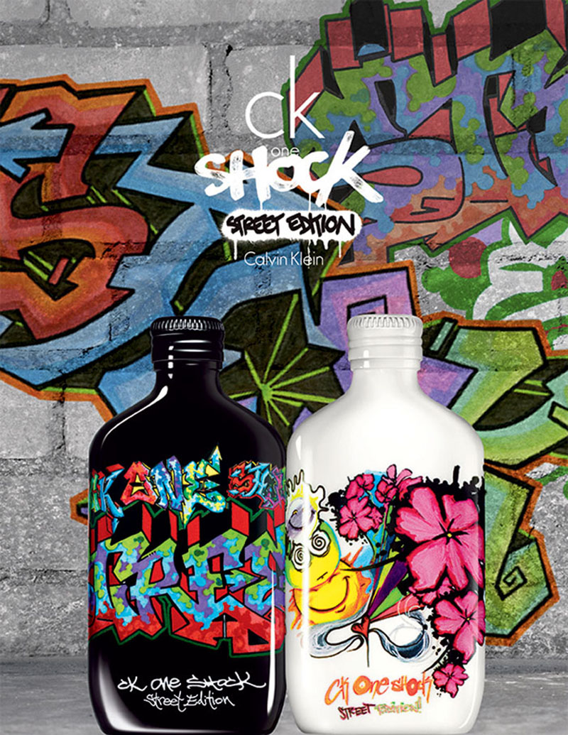 CK One Shock Steet Edition illatpáros