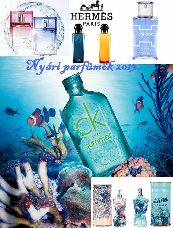 nyári parfümök 2013
