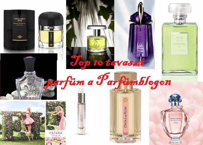 Top 10 tavaszi parfüm(öm) 2013-ban