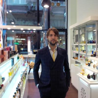 Matthew a Neroli parfümmériában