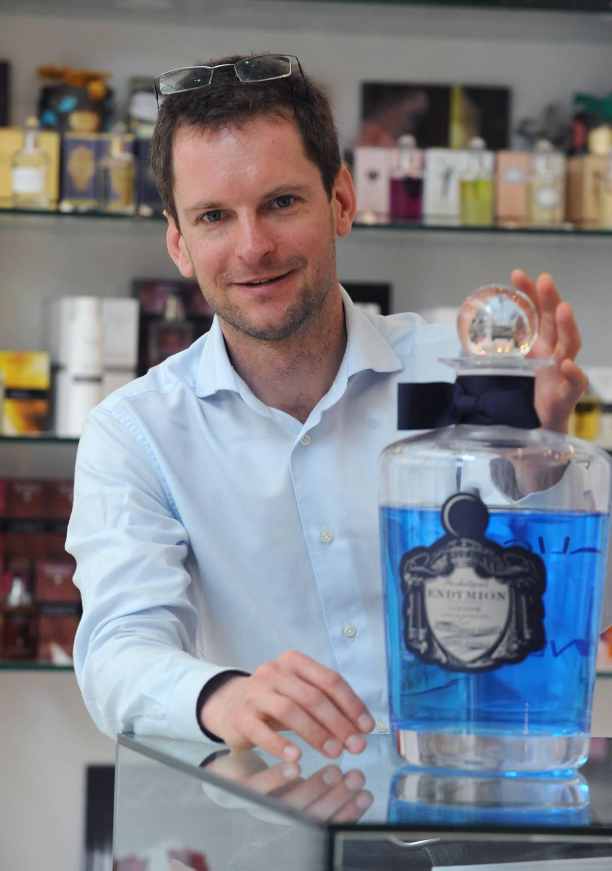 Interjú Zólyomi Zsolt parfümőrrel