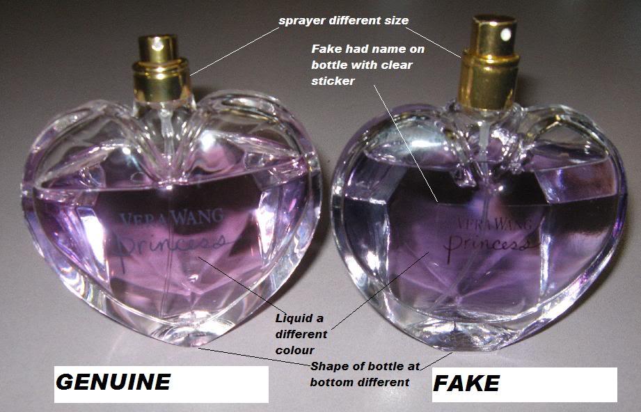 Iskolapéldája a hamis parfümnek!