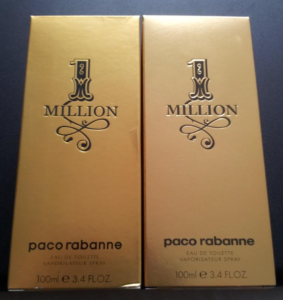 paco rabanne 1 million hamis parfüm