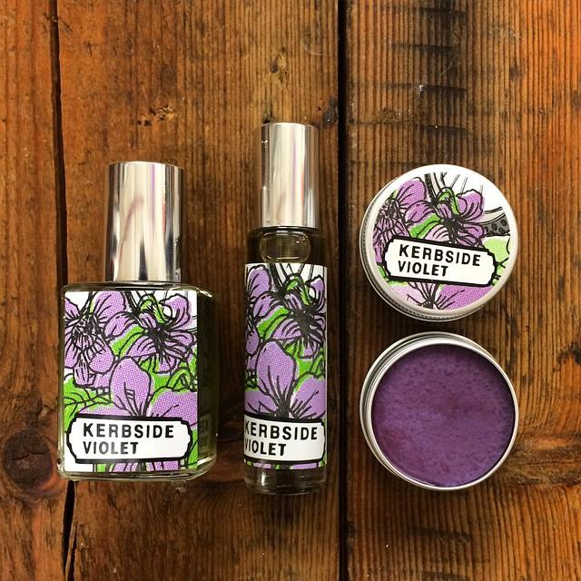 kerbside violet parfüm lush