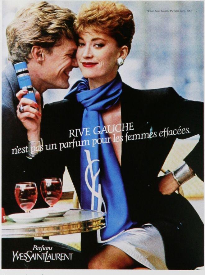 rive gauche ad 1980s