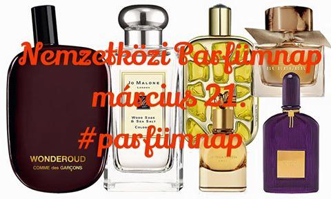 nemzetközi parfümnap