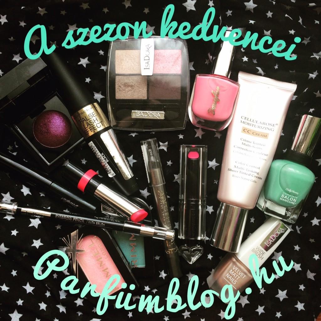 a szezon kedvencei parfümblog makeup
