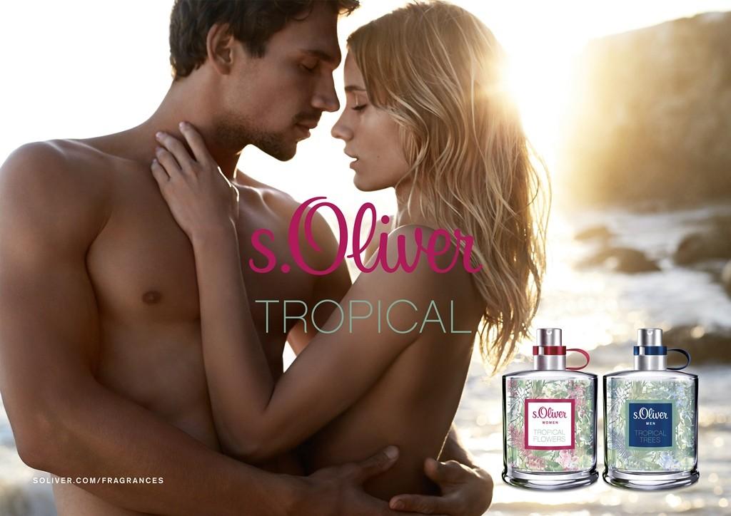 s.oliver tropical parfümpáros