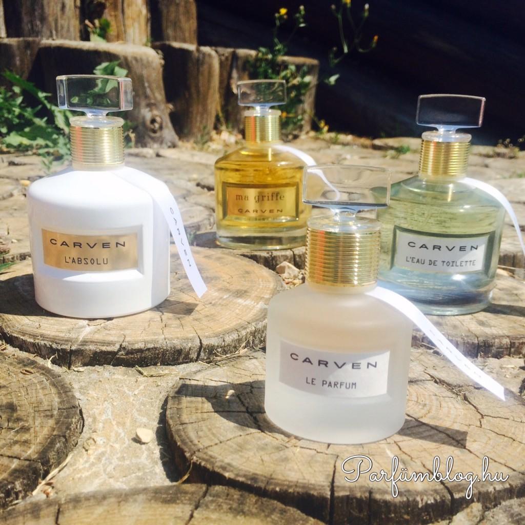 carven női illatok