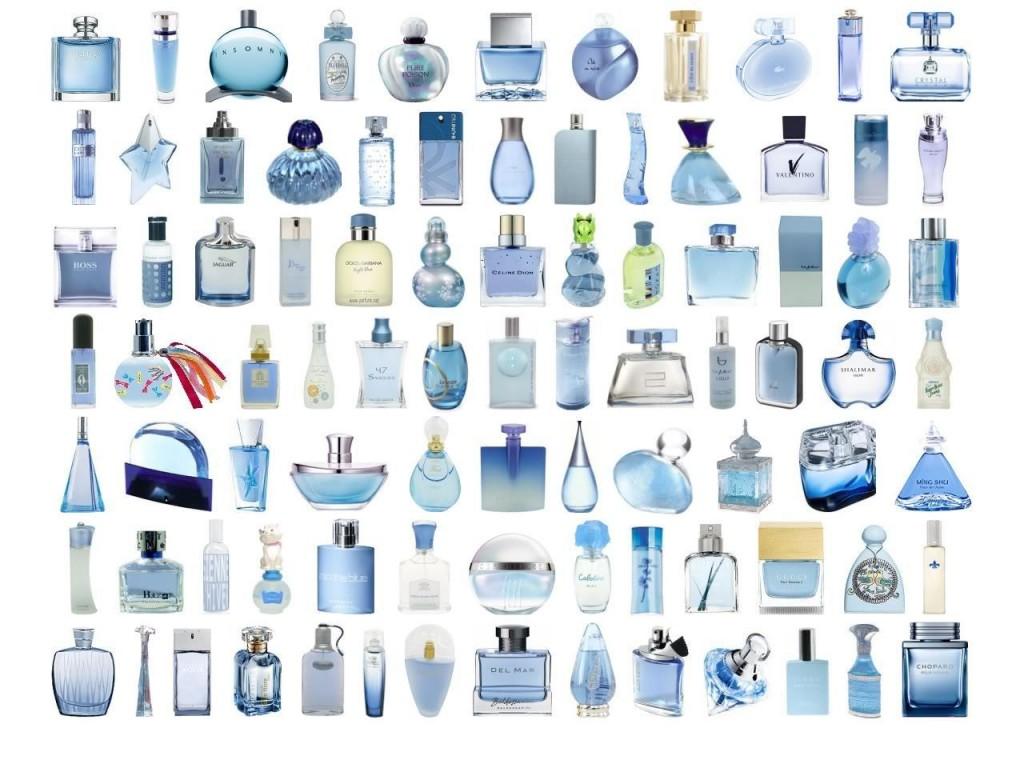 kék parfümök