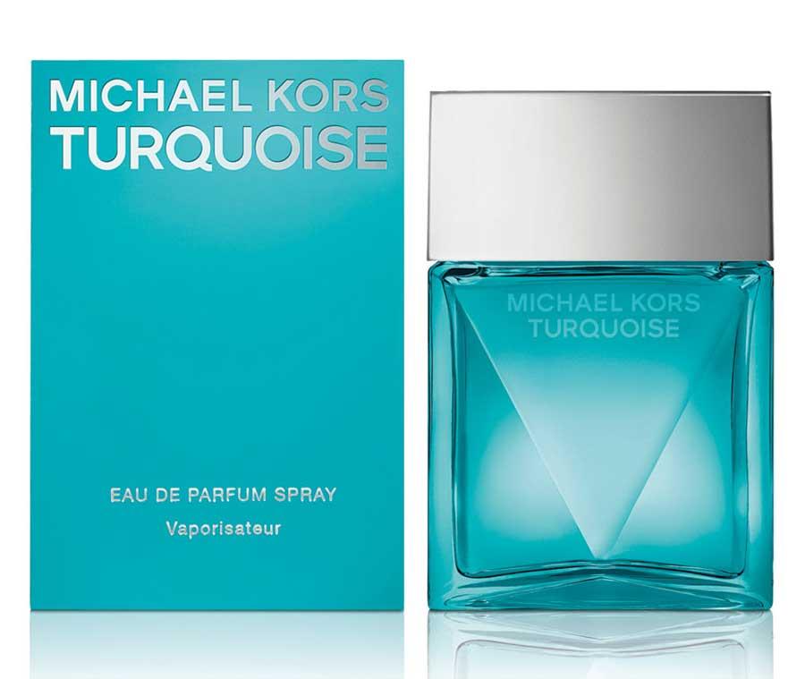 michael kors turquoise parfümblog