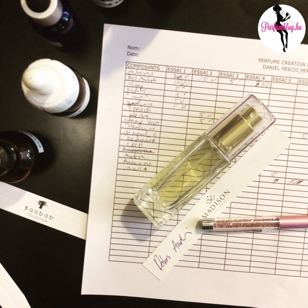 parfümblog parfümkészítő workshop