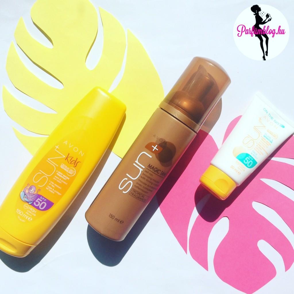 avon sun+ parfümblog