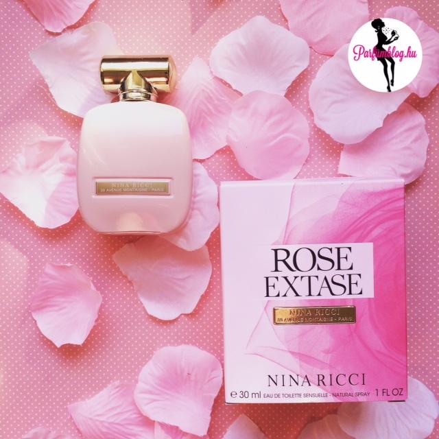 Nina Ricci Rose Extase – újdonság és parfümkritika