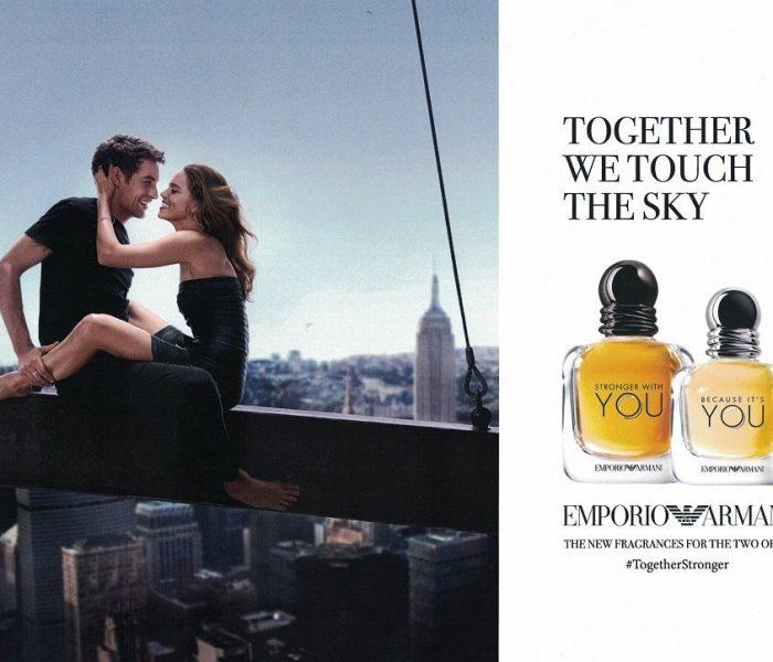 Emporio Armani – új parfümpáros