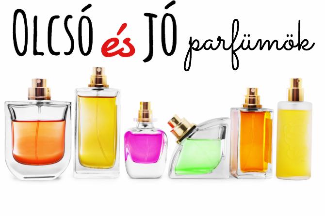 10 igazán jó és olcsó parfüm