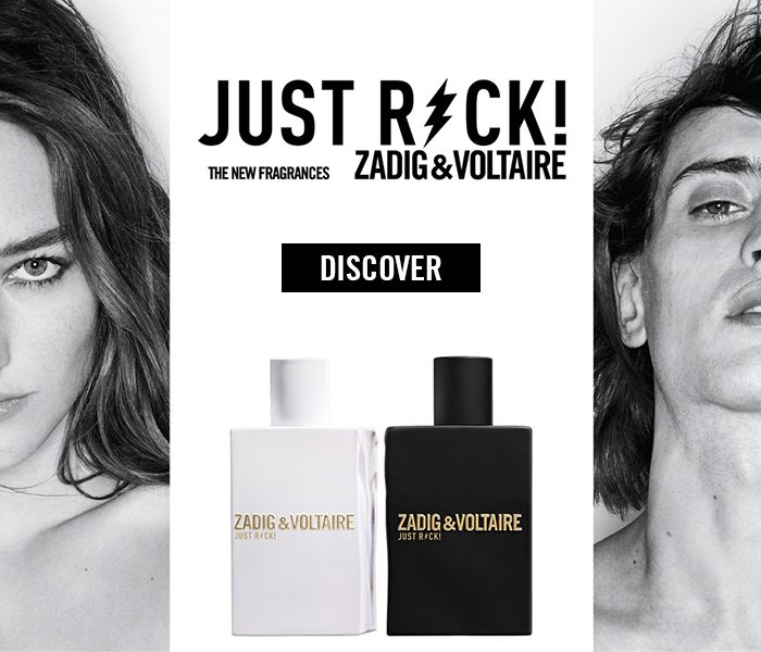Zadig & Voltaire Just Rock! – parfümújdonság