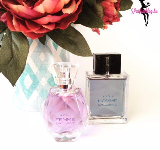 Avon parfümújdonságok: Femme & Homme Exclusive