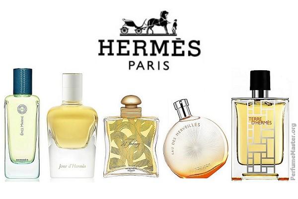 A Hermés parfümök