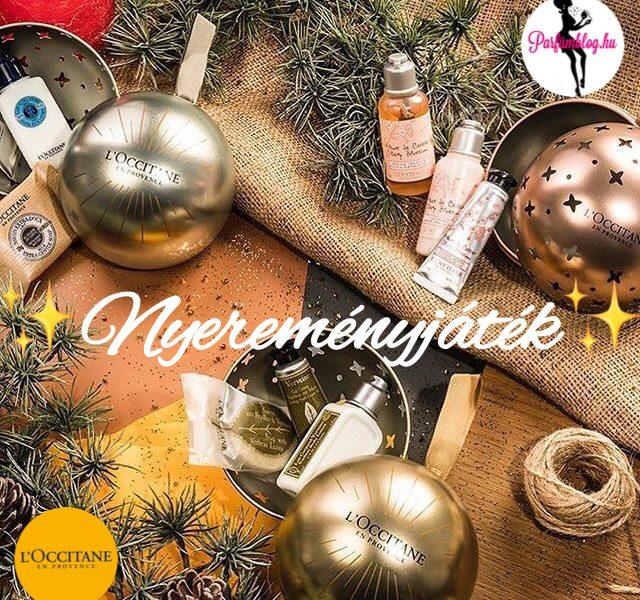 L'Occitane karácsonyi újdonságok és nyereményjáték!