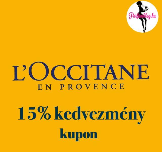 Vásárolj 15% kedvezménnyel a L'Occitane üzleteiben – kupon!