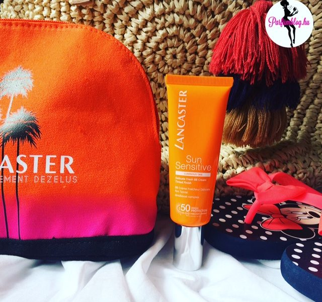Beauty-percek: napvédelem Lancaster módra