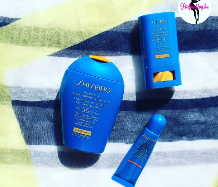 Beauty-percek: Shiseido napvédők