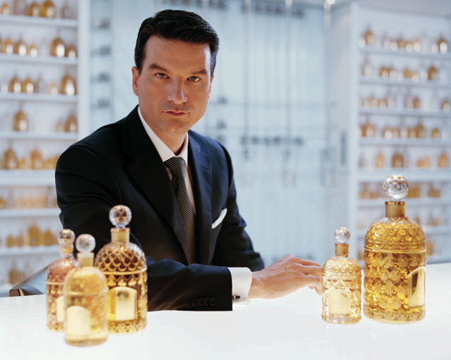 Thierry Wasser, a Guerlain parfümőre