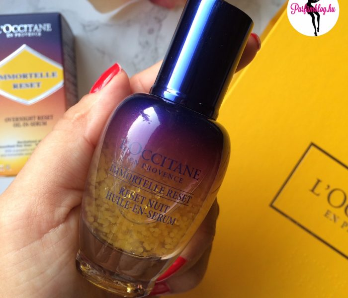 Beauty-percek: L'Occitane Immortelle Night Reset szérum