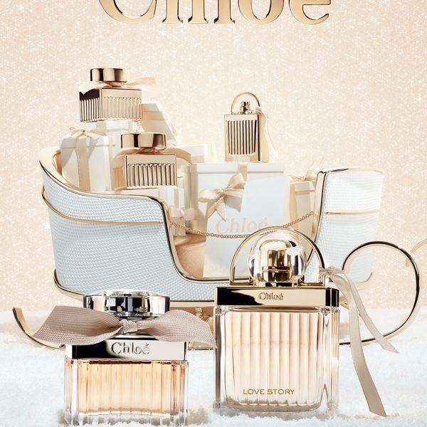 Chloé karácsonyi üdvözlete – parfümajánló