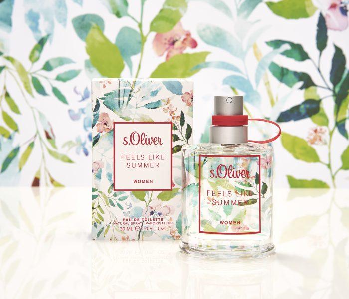 s.Oliver Feels Like Summer 2020 – parfümújdonság és NYEREMÉNYJÁTÉK