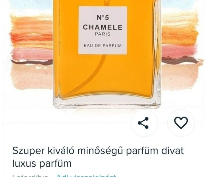 Így ne rendelj hamis parfümöt!