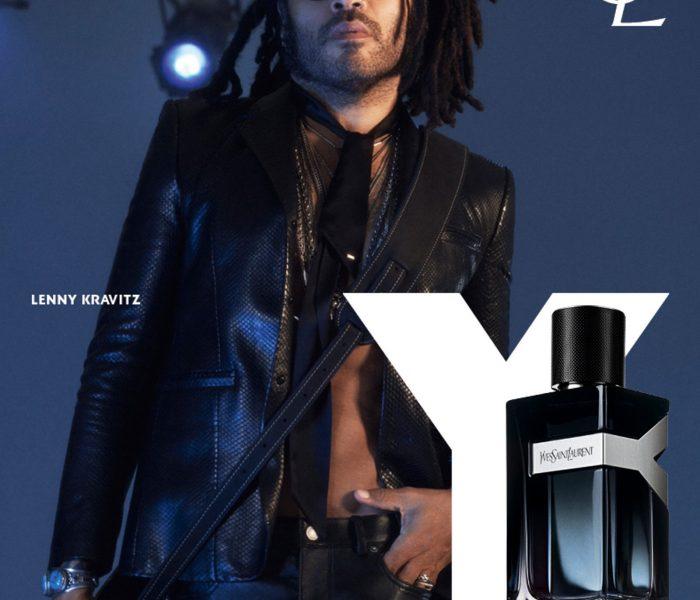 Yves Saint Laurent Y arca Lenny Kravitz rockisten